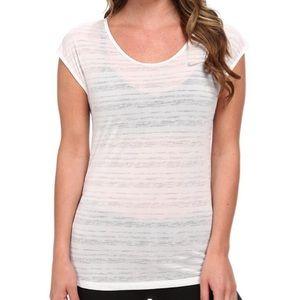 Nike Women's Dri-fit Cool Breeze Short Sleeve Top